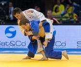 2st Kampf [-60 kg] Vorrunde Jacob Garricos (ESP) - Tobias Englmaier (GER): Tobias verliert knapp mit zwei gegen eine Bestrafung.