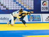 2st Kampf [-57 kg] Vorrunde Hedvig Krakas (HUN) - Jacqueline Lisson (GER): Jacqueline verliert knapp mit zwei gegen eine Bestrafung.