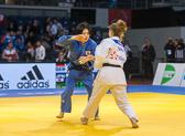3st Kampf [-52 kg] Vorrunde Mareen Kräh (GER) - Misato Nakamura (JPN): Mareen verliert in einem Haltegriff.