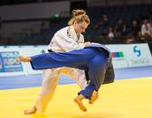 Kampf um Bronze -52kg Mareen Kräh (GER) - Gili Cohen (ISR): Mareen siegt mit zwei Yuko und gewinnt Bronze.