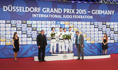Mareen Kräh gewinnt Bronze in der Gewichtsklasse bis 52 kg.