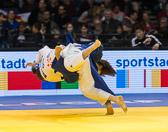 1st Kampf [-63 kg] Vorrunde Rebecca Bräuninger (GER) - Jiyun Bak (KOR): Rebecca unterliegt und scheidet frühzeitig aus dem Turnier aus.