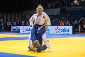 1st Kampf [-63 kg] Vorrunde Martyna Trajdos (GER) - Anna Bernholm (SWE): Martyna Trajdos gewinnt ihren Auftaktkampf, da ihre Gegnerin  drei Bestrafungen kassiert hat.