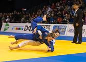 2st Kampf [-70 kg] Vorrunde Iljana Marzok (GER) - Margeauy Pinot (FRA): Iljana gewinnt mit einer Waza-ari Wertung.