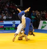 2st Kampf [-63 kg] Vorrunde Vivian Herrmann (GER) - Bosra Katipoglu (TUR): Vivian gewinnt mit einem Ippon.