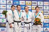 Sven Maresch gewinnt Bronze in der Gewichtsklasse bis 81 kg.