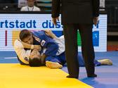 1st Kampf [-90 kg] Vorrunde Tsogtgerel Khutag (MGL) - Marc Odenthal (GER): Tsogtgerei kann sich nicht befreien und Marc gewinnt den ersten Kampf.