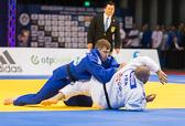1st Kampf [+100 kg] Vorrunde Jean Sebastien Bonvoisin (FRA) - Pierre Borkowski (GER):