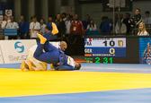 1st Kampf [+100 kg] Vorrunde Jean Sebastien Bonvoisin (FRA) - Pierre Borkowski (GER): Pierre verliert und scheidet aus dem Turnier aus.
