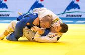 1st Kampf [-90 kg] Vorrunde Christophe Lambert (GER) - Aleksandr Marmeljuk (EST) : Am Ende der Kampfzeit gewinnt Christophe seinen Kampf mit einem Yuko Vorsprung.