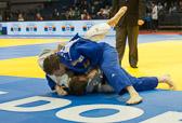 1st Kampf [-100 kg] Vorrunde Frederik Joergensen (DEN) - Dino Pfeiffer (GER) : Dino gewinnt mit Haltegriff.