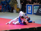 1. Kampf Stand: 0-0 Daniel Herbst - Tentore Masmanidis -100 kg: Tentore verliert den Kampf. Bei dem Wurf verletzt er sich am Nacken.