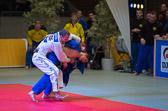 7. Kampf Stand: 3-3 Rene Kirsten - Eduard Trippel -90 kg: Eduard verteidigt seine Waza-ari Führung bis zum Kampfende zum 3-4  Pausenstand.