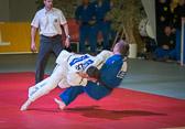 8. Kampf Stand: 3-4 Daniel Herbst - Dominic Hofmann -100 kg: Dominic verliert mit Ippon.