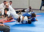 bis 81 kg: Lars Kilian vs David Riedl 0:7 (5:00): Waza-ari Wertung für Riedl.