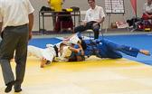 bis 81 kg: Lars Kilian vs David Riedl 0:7 (5:00): Zunächst erhält Lars einen Waza-ari, diese wird nach Intervention der Außenrichter zu Yuko geändert.