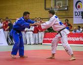 bis 81 kg: Jannis Hill - Lars Kilian 10:0 (Kampfzeit: 3:07 min.)