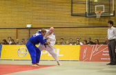 über 100 kg: Simon Glockner - Dominik Hofmann 00:0 (1:47)