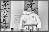 Bürstadt, 19. Dezember 2015: Generalprobe zur anstehenden Jiu-Jitsu Gürtelprüfung