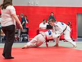 4. Kampf  (Stand 2-1) Nick Mattern -81 kg: Hierfür bekommt Nick einen Yuko.