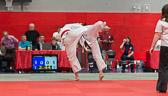 4. Kampf  (Stand 2-1) Nick Mattern -81 kg: Uchi-mata Ansatz von Nick.