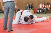 6. Kampf  (Stand 1-4) Peter Blatt +100 kg: Haltegriff sitzt, Sieg für Peter.